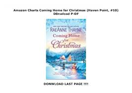 Amazon Charts Coming Home For Christmas Haven Point 10