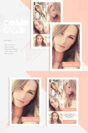 Sienna Taber Modeling Comp Card Corporate Identity Template
