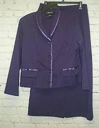 Sag Harbor Wine Burgundy Shawl Collar Womens Sz 10 10p Dress