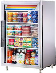 true gdm 07 s hc tsl01 24 1 swing glass door countertop refrigerated merchandiser stainless steel