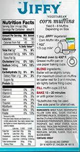 jiffy cornbread nutrition. Plain Jiffy Amazoncom  Jiffy Vegetarian Corn Muffin Mix  85 OZ Box Pack Of 3  Grocery U0026 Gourmet Food Throughout Cornbread Nutrition T