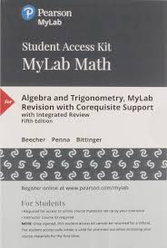 Iupui Aleks Placement Chart Mylab Math With Pearson Etext Standalone Access Card