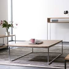 ethnicraft thin oak coffee table solid wood furniture