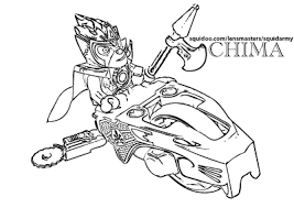 Small Picture Lego Chima Coloring Pages Squid Army