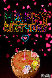 Falling Heart Happy Birthday Cake Gif Pictures Photos And Images