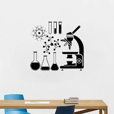 wall decals stickers chemistry