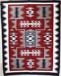 picture of storm navajo rug at