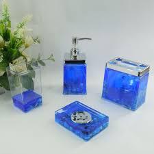 bathroom set 19 99 blue sea conch acrylic bath accessory sets h4005 whole neat design bathroom
