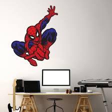 wall chimp spider man printed wall
