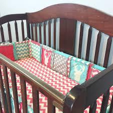 coastal crib bedding madras plaid beach themed intended awful girls