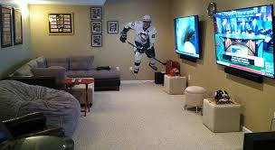 tv 75 inch. michael and erika puck\u0027s pennsylvania home features side-by-side 75-inch televisions tv 75 inch