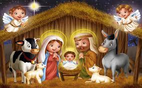 Free Christmas Nativity Scene computer ...
