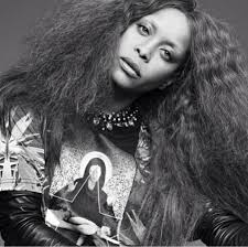 Erykah Badu in Givenchy Spring/Summer 2013 for Purple Magazine Spring/Summer 2014 - Erykah-Badu-Purple-Magazine-04-597x594