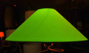 conical lamp shades linen replacements table replacement glass fantasy green for as well 19