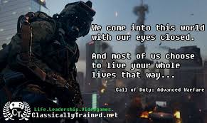 Cod Quotes Delectable Video Game Quotes Call Of Duty Advanced Warfare On Awareness
