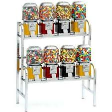 Bulk Vending Machine Candy Unique 48Unit Gumball Bulk Candy Vending Rack Gumball Machine Warehouse