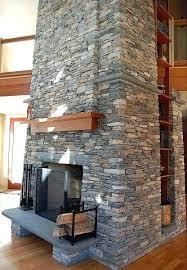 all natural stone veneer siding cladding fireplace how to install on drywall thin panels for