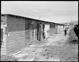 dorothea lange s censored photographs of fdr s ese   16 1942 san bruno california this scene shows one type of