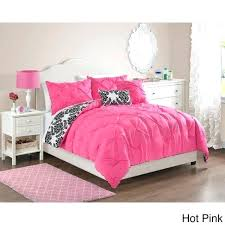 black pintuck comforter twin full queen bed pink black white damask pleat 5 comforter set black