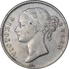 Been searching around the inter for the past few days for this one instagram : Silver One Rupee Coin Of Victoria Queen Of Calcutta Mint Of 1840