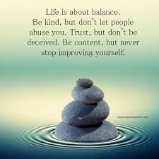 Balanced Life Quotes Custom Lessons Learned In LifeLife Is About Balance Lessons Learned In Life
