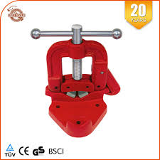 Bench Pipe Vise Clamp On Hinged Type Plumberu0027s Vice 2 Hand Tools Types Of Bench Vises