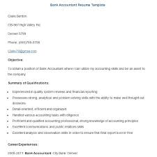 Objective For Resume For Bank Job 22 Sample Banking Resume Templates Pdf Doc Free