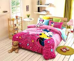 baby minnie mouse bedding set mickey mouse comforter set for