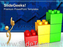 Lego Growth Chart Lego Growth Chart Business Powerpoint Background Powerpoint