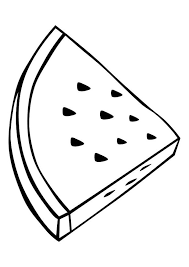 Small Picture Fresh Watermelon Coloring Page 24 About Remodel Line Drawings with