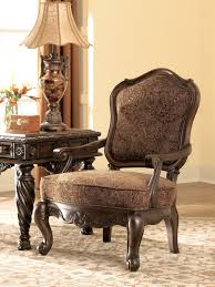 ashley furniture north s accent chair tuscan kitchen dining concerning fresco durablend antique sofa