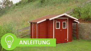 Gartenhaus Streichen Gartenhütte Streichen Holzfarbe Einfach