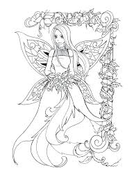 Fantasy Fairy Coloring Pages 28 Collection Of Fantasy Elf Coloring