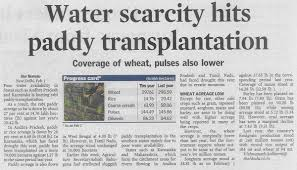 essay on scarcity of water