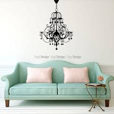 chandelier wall decal elegance wall decals