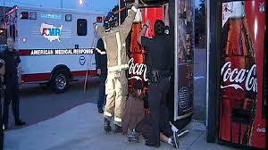 Vending Machine Truck Inspiration Teen Tries To Steal Soda Gets Stuck In Vending Machine NBC 48 San