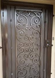 Decorative Metal Gates Design Mesmerizing BA Ramirez Iron Works Gallery Ornamental Wrought Iron Doors