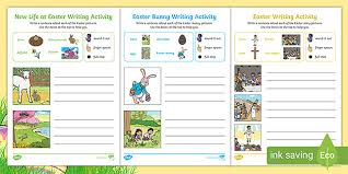 Easter blog post ideas for mom blogs. Easter Themed Early Writing Activities Teacher Made