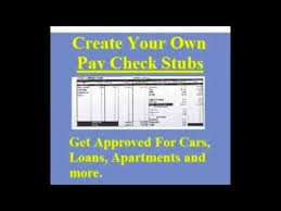 Payroll Check Stub Template Free Create Pay Stubs Paystub Templates Fake Pay Stubs Sample Pay Stub