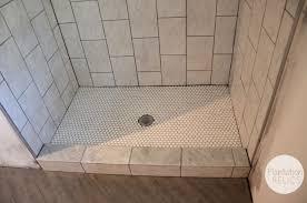 Bathroom Remodel Tile Shower Floor Not Sloped Properly Tile For