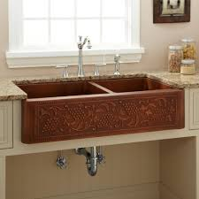 kitchen copper kitchen sinks and faucets kohler undermount kitchen sinks steel sink copper sink kitchen