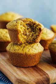 Vegan Pumpkin Cornbread Muffins Making Thyme For Health