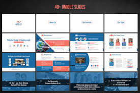 Project Proposal Presentation Ppt Web Design Development Project Proposal Powerpoint Template 66476