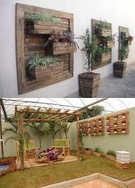 pleasant garden wall decoration ideas