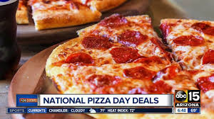 national pizza month deals