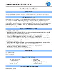 Pin By Jessica Barnes On Cv Pinterest Sample Resume Resume And Stunning Bank Job Resume Objective