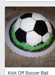 How To Decorate A Soccer Ball Cake Soccer Cake You Can Make RENEE Pinterest Soccer cake Cake 71