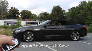 mods4cars SmartTOP for BMW 6 Series F12 Convertible - operate the ...