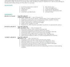 Receptionist Resume Sample Fascinating Resume Receptionist Sample Receptionist Resume Sample For