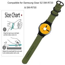 Gear S2 Band Size Chart Details About Band Replacement Wrist Strap For Samsung Gear S2 Sm R720 Sm R730 Smart Watch